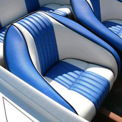 Marine Seat Upholstery, Custom Interiors
